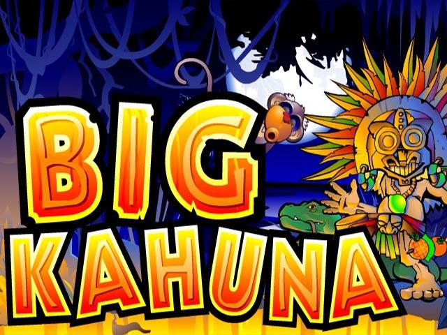 Игровой процесс аппарата Big Kahuna с сайта Azino