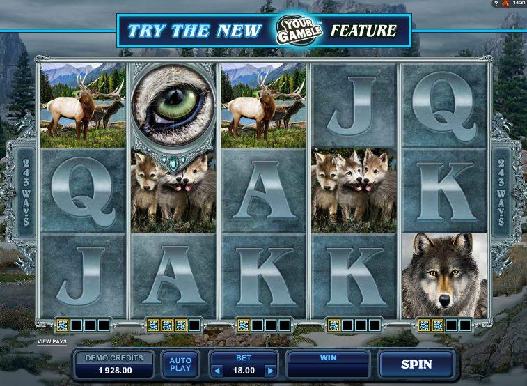 Видео слот Wolf Pack виртуального клуба Azino: описание