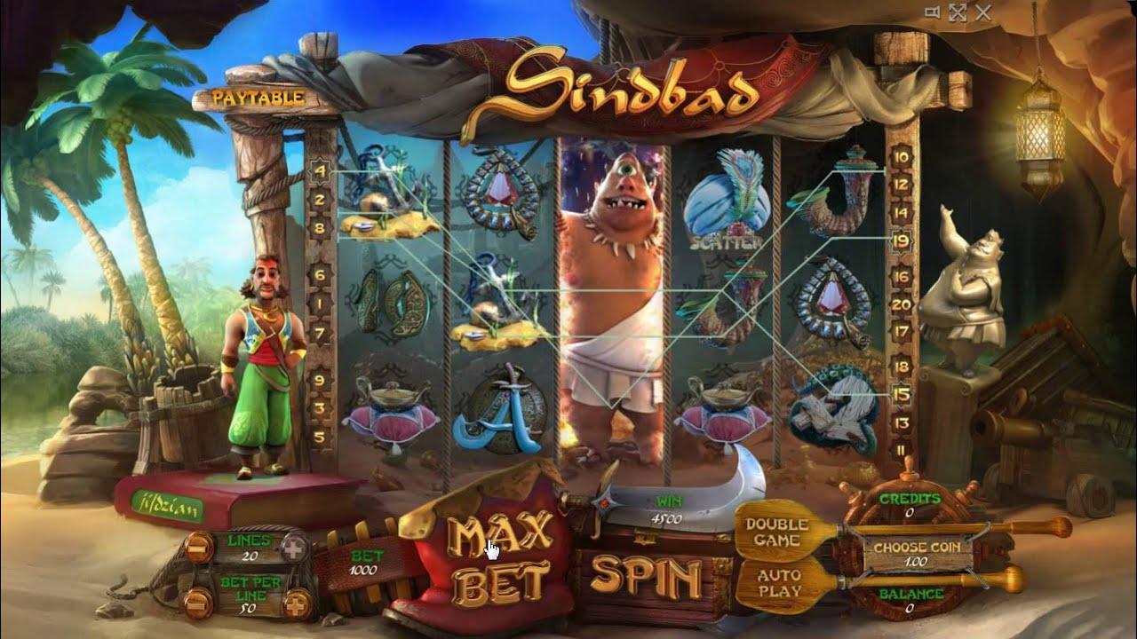 Отличительные черты проекта Sindbad из казино Император