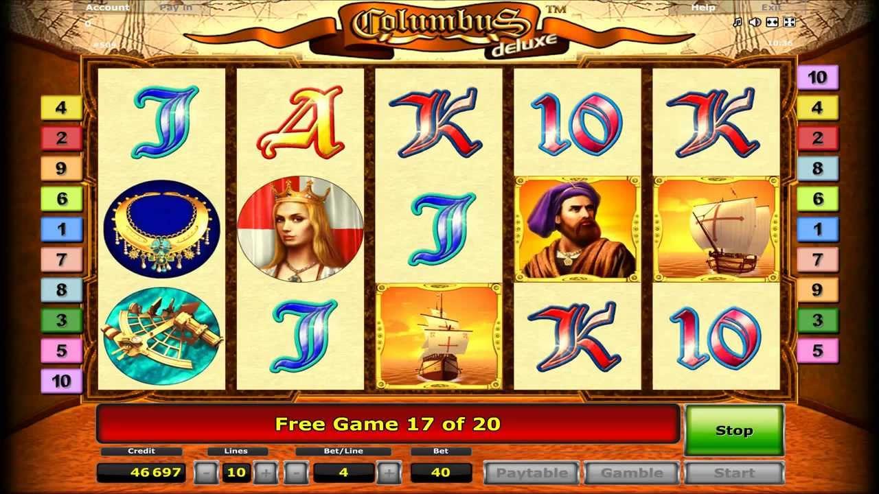 Обзор лучшего игрового автомата с официального сайта казино Columbus