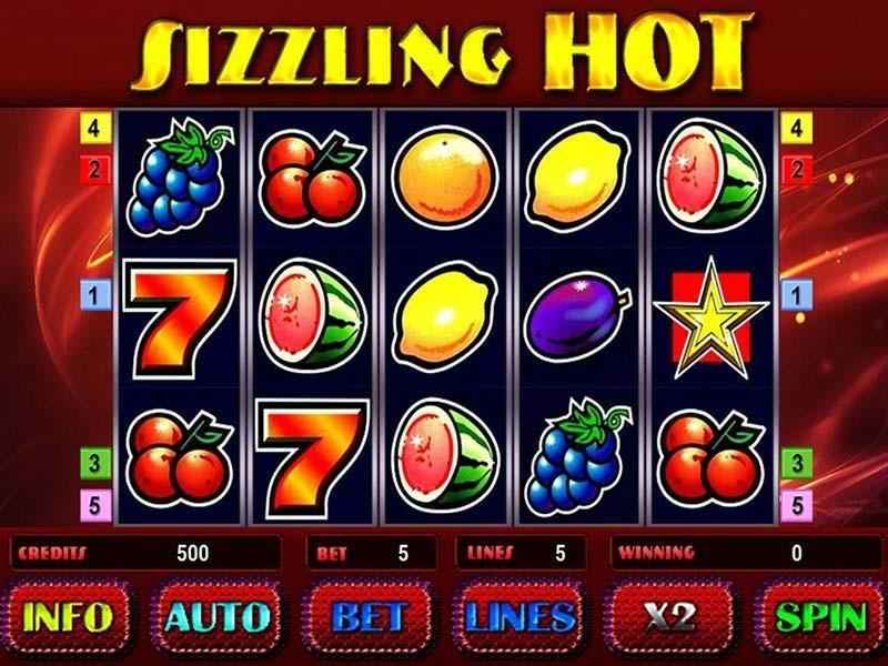 Особенности видеослота Sizzling Hot из популярного казино Вулкан Рояль