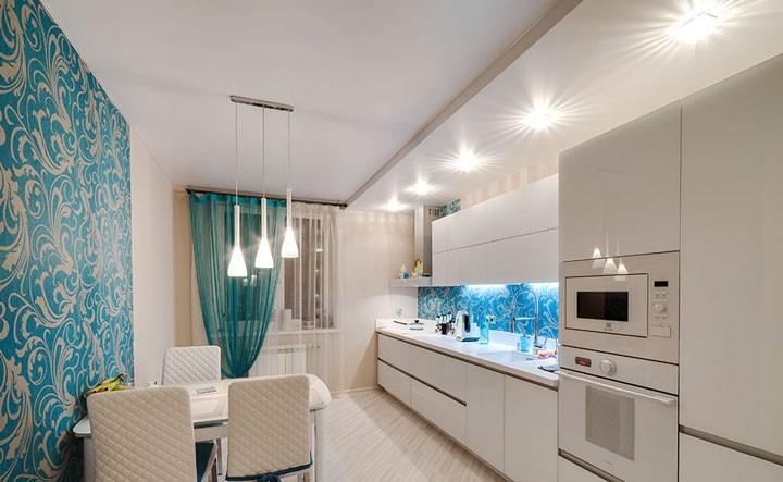 Основные разновидности осветительных приборов в интерьере помещения