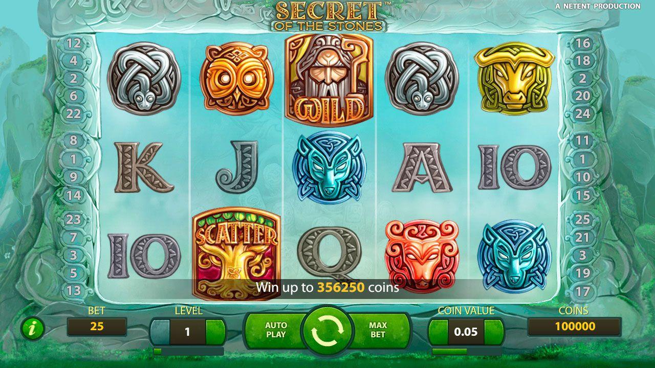 Особенности и бонусные функции игрового автомата Secret of the Stones