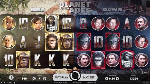 Ключевые особенности игрового автомата Planet of the Apes из онлайн казино